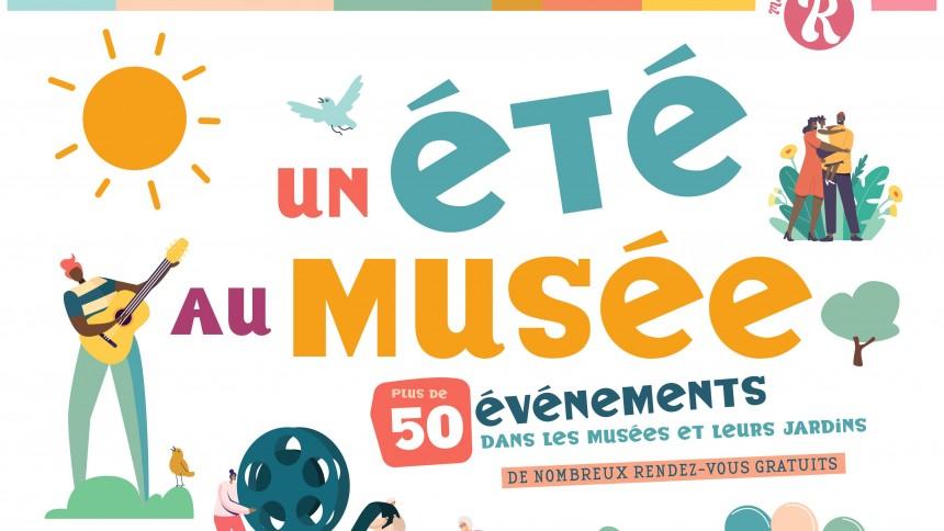 Le programme estival - Un été au musée 2021