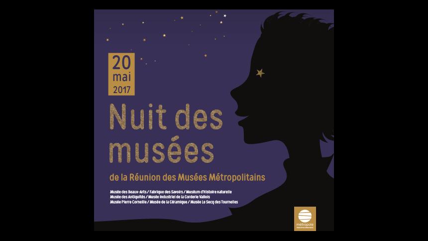 Samedi 20 mai 2017 : Nuit des musées au Musée Pierre Corneille